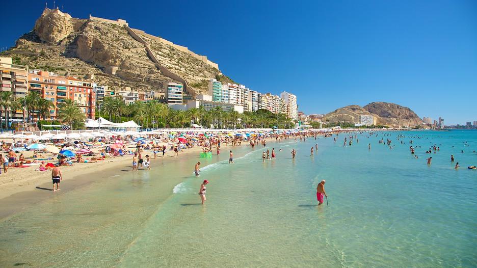 Strand in Alicante